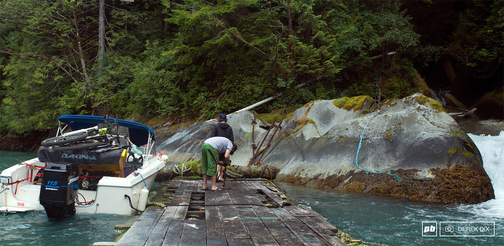 Harvesting some of the most delicious and fresh waters out of Alpine Creek this is generally done with a steady cam.