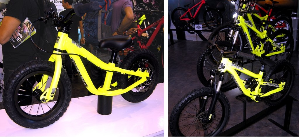 Commencal youth DH bikes