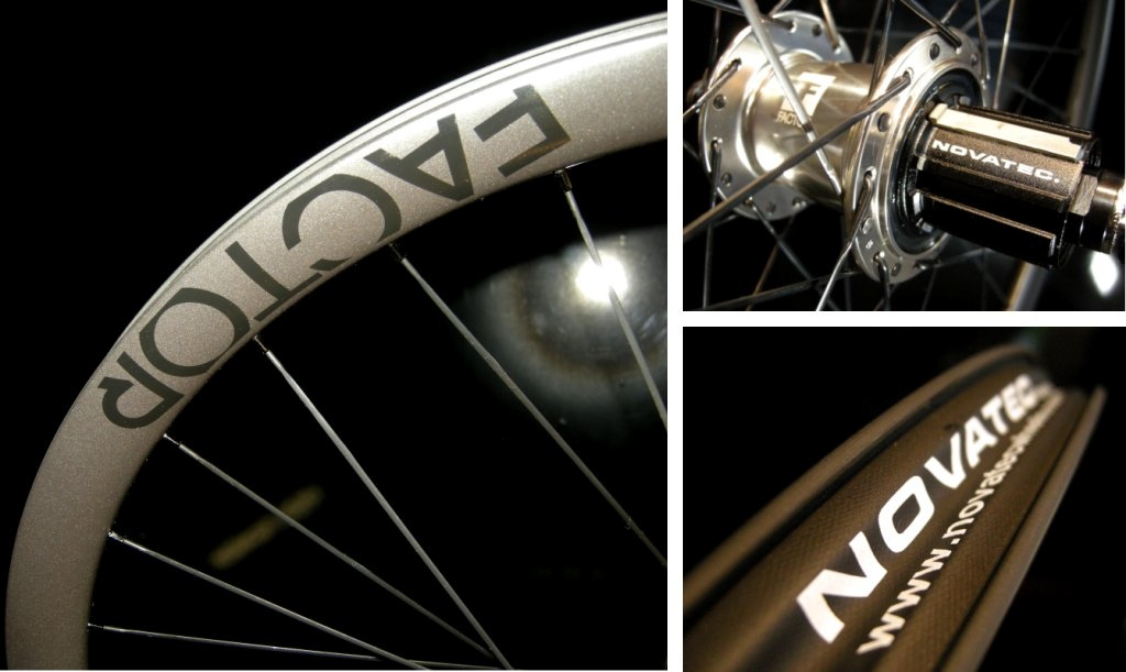 Novatec Factor carbon wheel