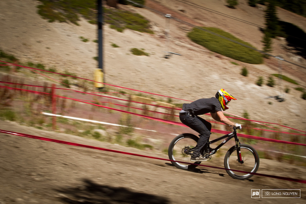 Christian Wright holding it down during Speed amp Style seeding.