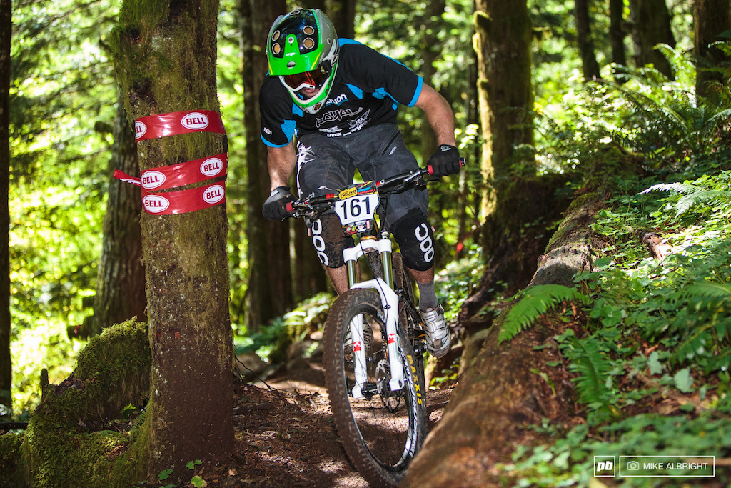 This is Michael Lillienthal. He s not only the graphics guy that made the course maps for the OR Enduro series but he s pretty fast on the bike 5th place overall in Expert 19-39.