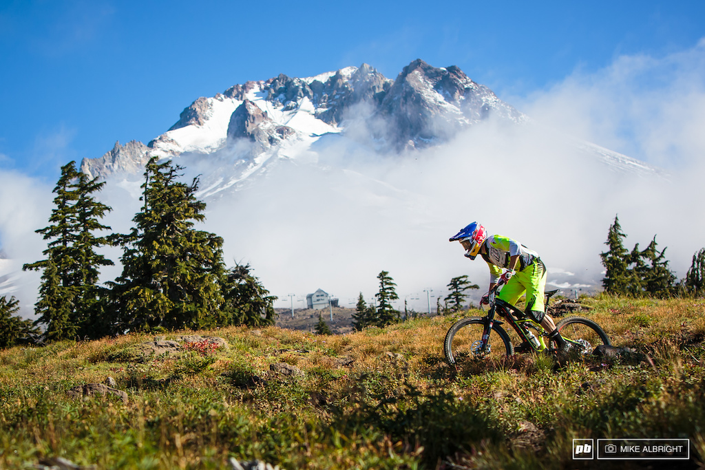 Curtis Keene hits the slopes of Mt. Hood with the 1 plate and rode it to the overall tittle.