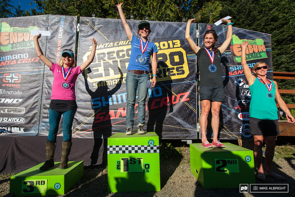 Women s podium for the weekend 1.Rosara Joseph 2.Kelli Emmett 3.Heather Irmiger 4.Jenny Konway