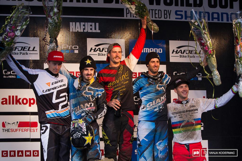 Men s podium