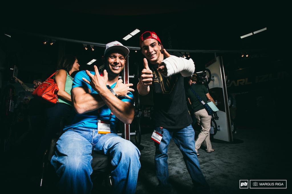 Tarek Rasouli and Anthony Messere.