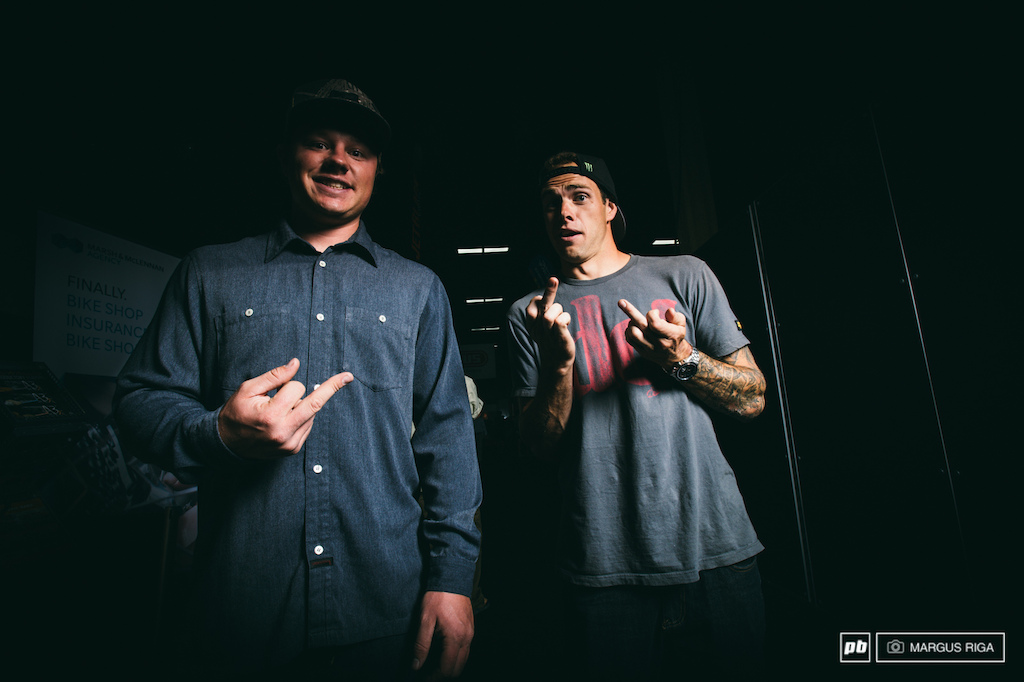 Strait and Zink best friends ultimate competitors. Can t wait to see what these two have up their sleeves for Rampage 2013.
