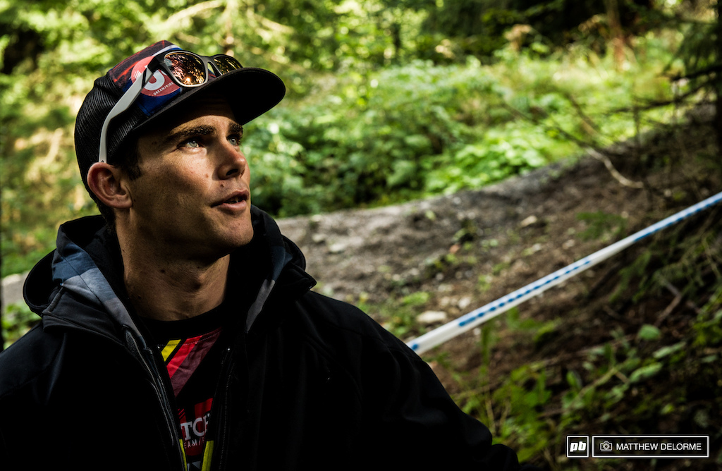 Mic didn't get the result he wanted in Hafjell, but is surely looking to close out this season strong.