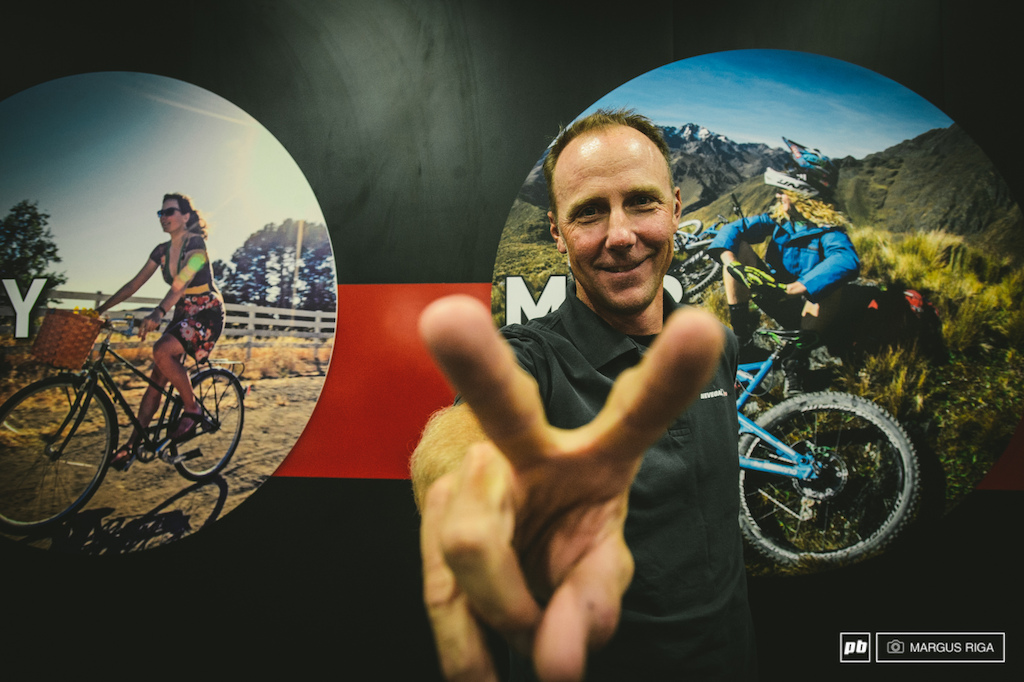 Mountain bike icon John Tomac. John may be one of the only athletes to have raced and won major titles in every disciple of biking BMX Cross-Country Road and Downhill.