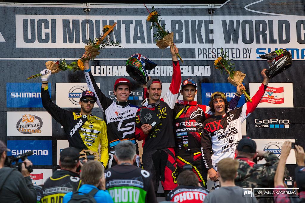 M podium