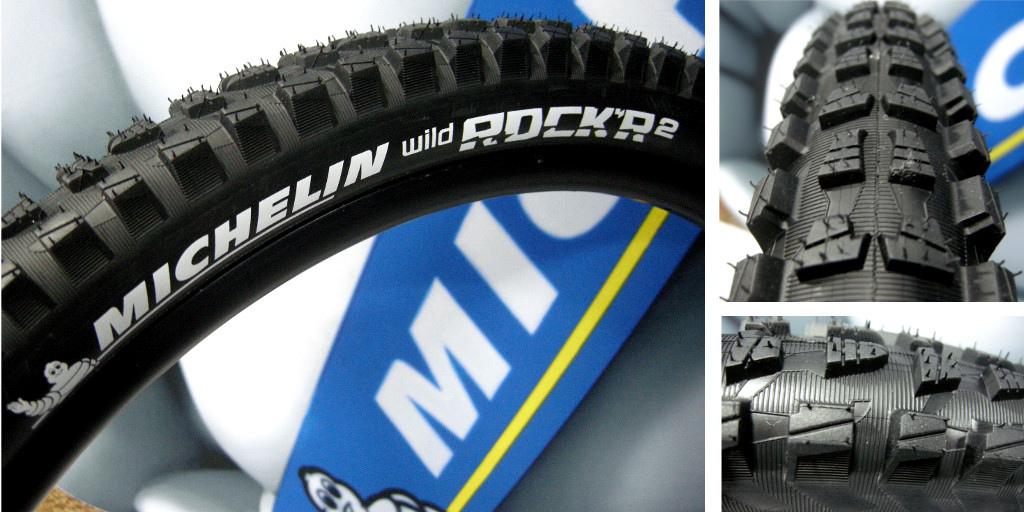 Michelin Wild Rock R tire 2014