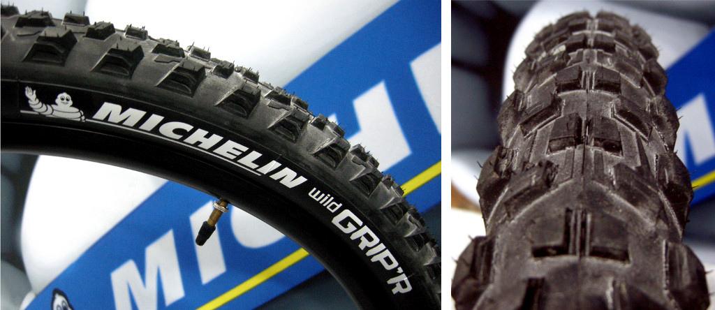 Michelin Wild Grip R tire 2014