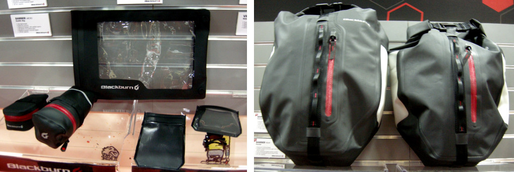 Blackburn Barrier bags and touch-sensitive sleeves for tablets and phones.