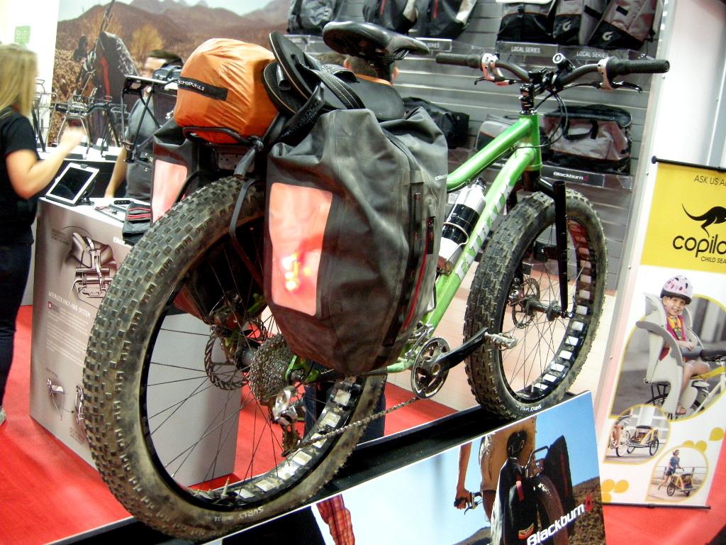 Blackburn off-road touring setup for fatbikes