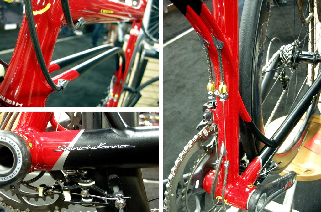 Sinichi Kanno road bike.