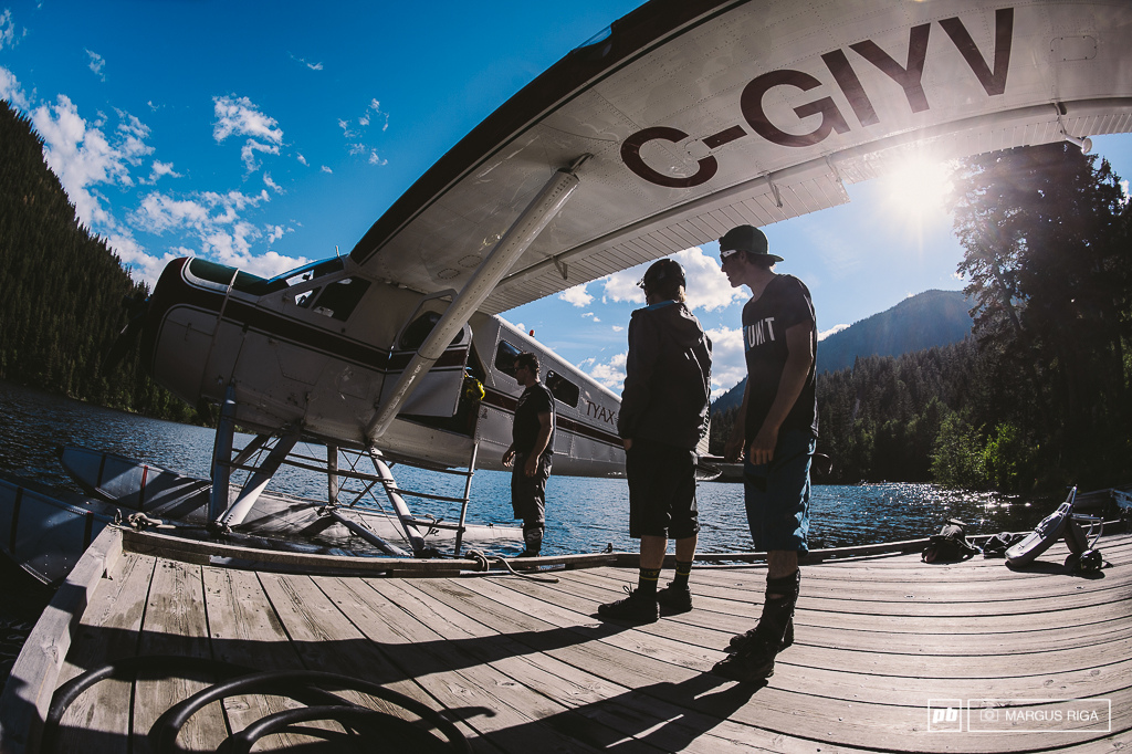 Getting out of the floatplane at the end of a trip doesn t feel nearly as good as getting into the floatplane at the start of a trip.