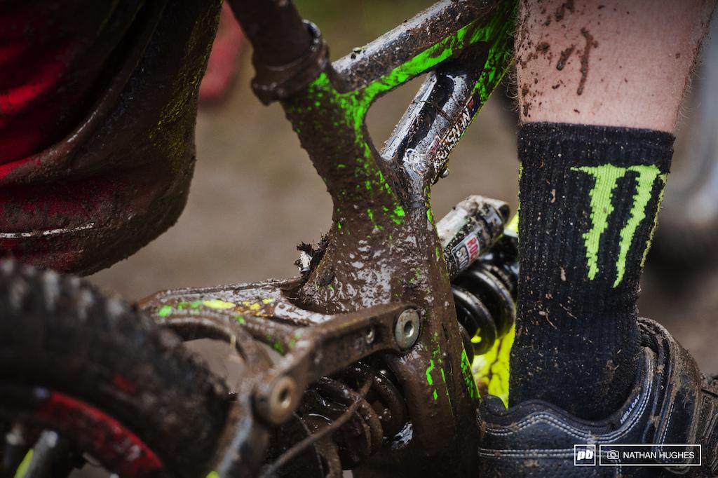 Brosnan..Me bike gets muddy like Hill