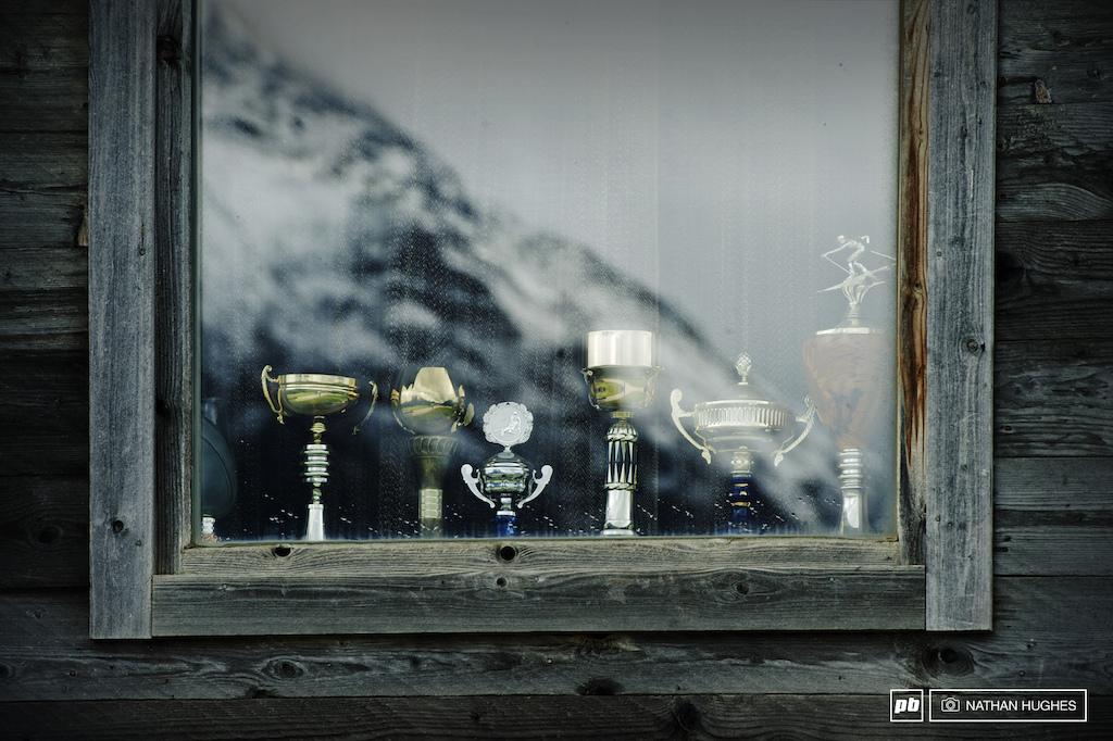 High altitude trophy cabinet