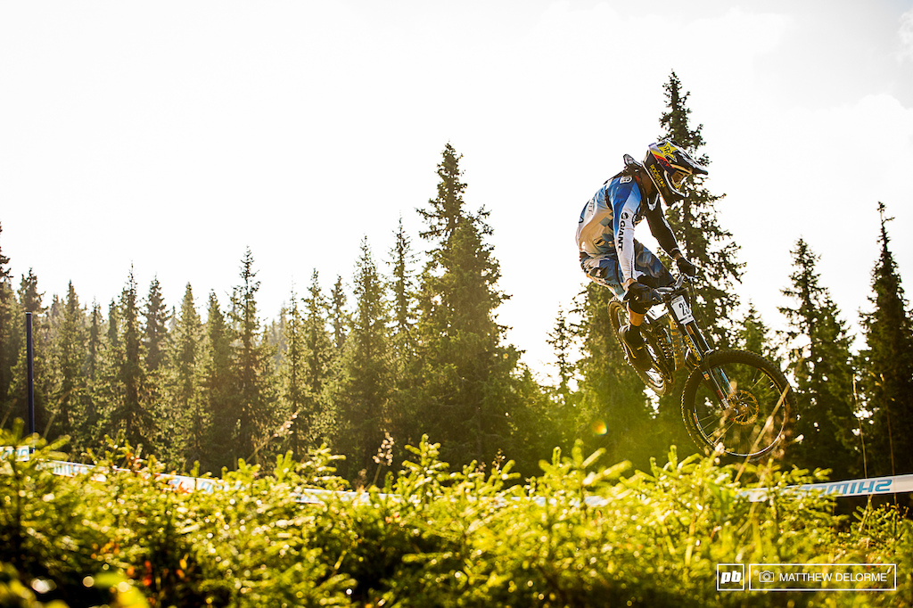 It was years since Neethling had been on a World Cup Podium but all that changed in Hafjell.