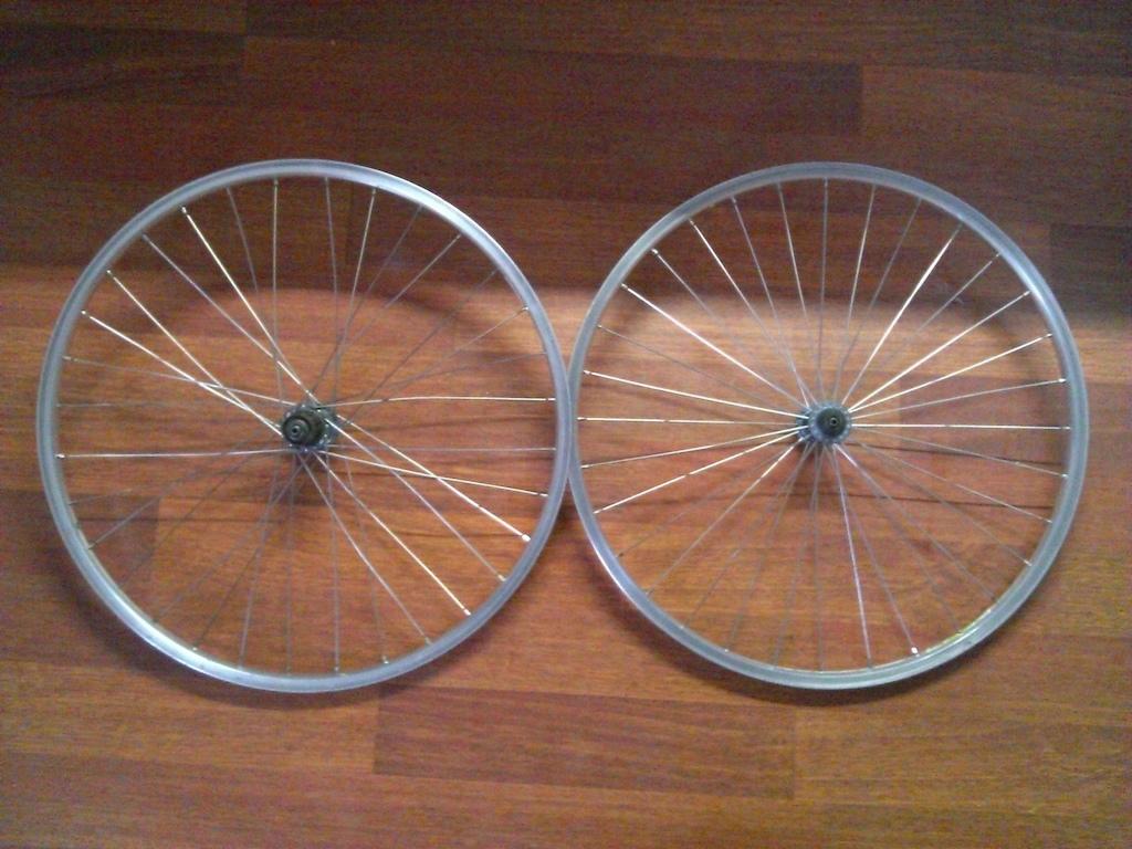 Deore LX wheelset