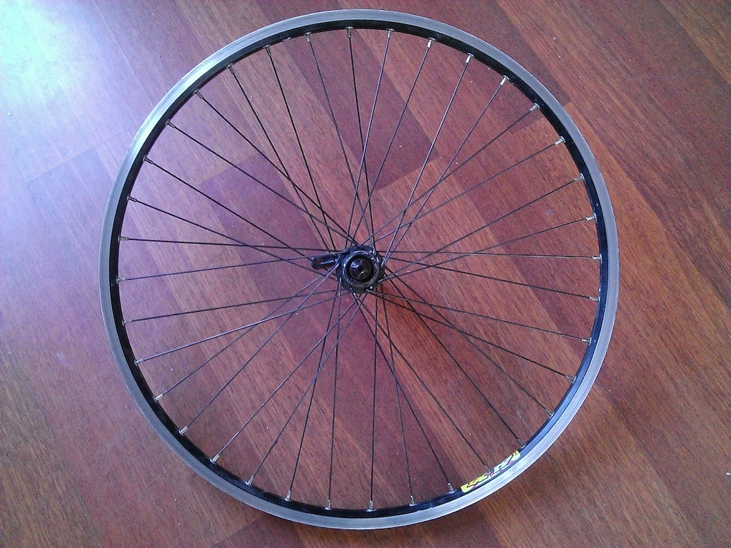 Deore rear wheel