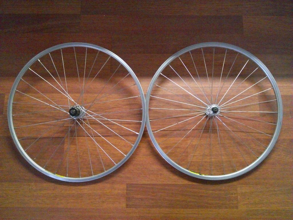 Deore DX wheelset