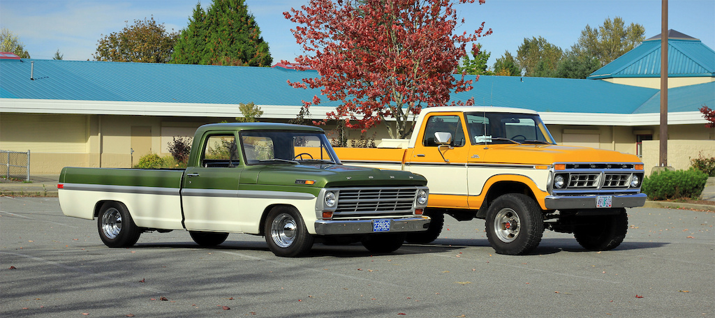 The Highboy and its little brother.