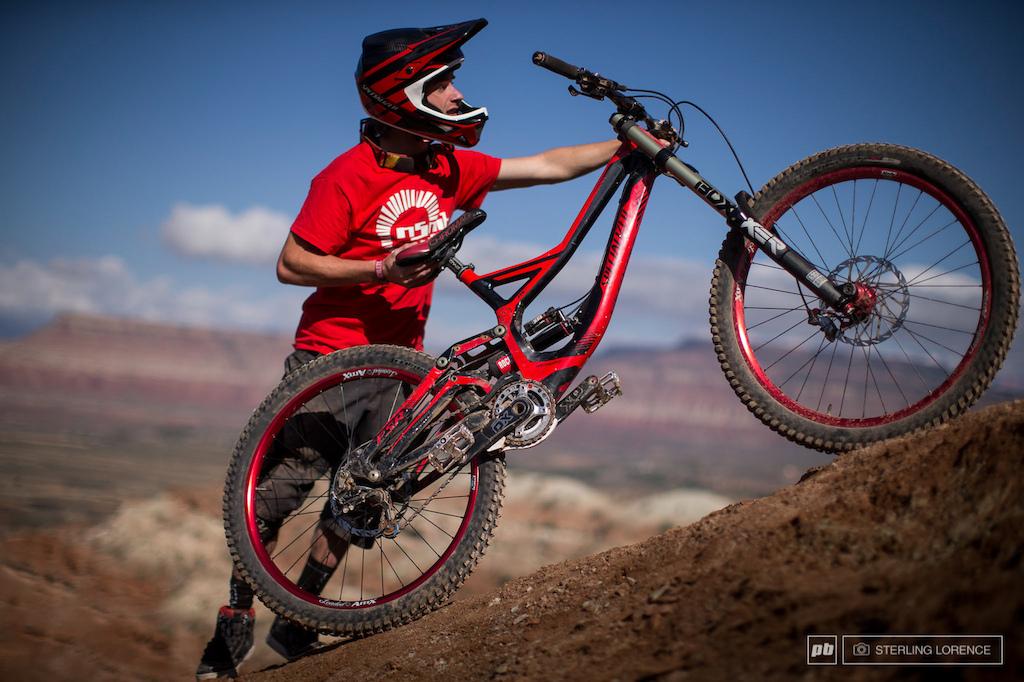 Mark Mathews, 2013 RedBull Rampage in Virgin, Utah