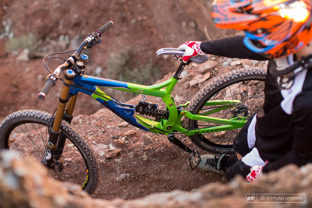 Tom VanSteenberg, 2013 RedBull Rampage in Virgin, Utah