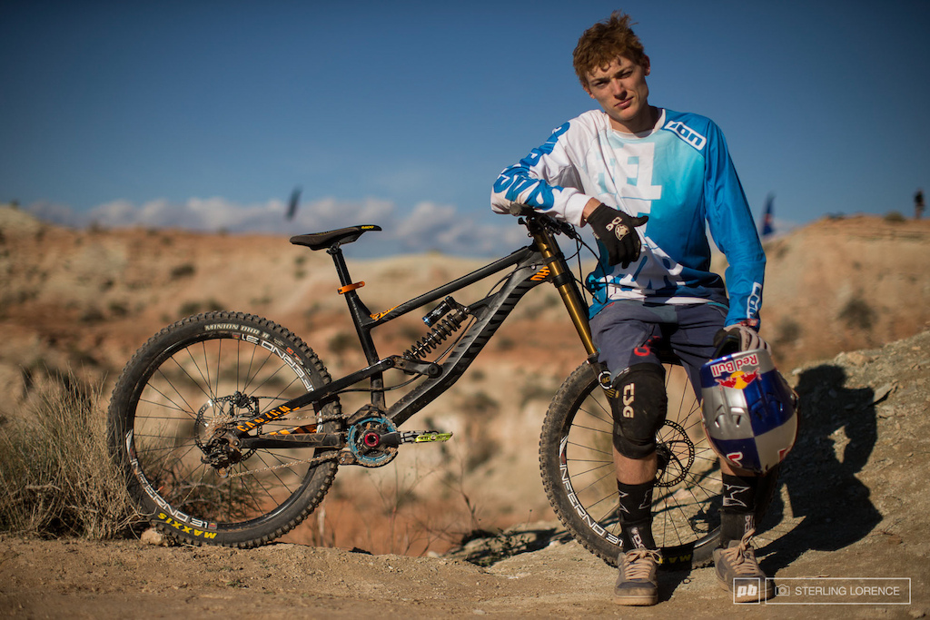 Thomas Genon 2013 RedBull Rampage in Virgin Utah