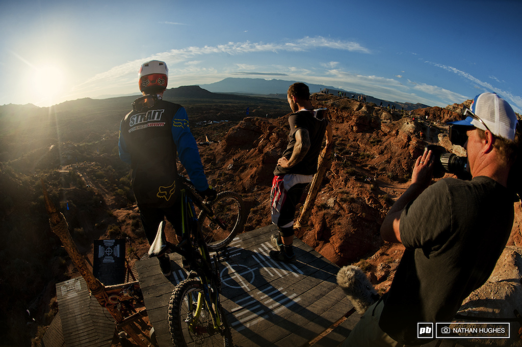 To huck or not to huck life at the Rampage s be-all end-all question as the sun dips on the penultimate day.
