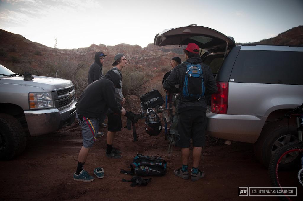 eh team. 2013 RedBull Rampage in Virgin Utah