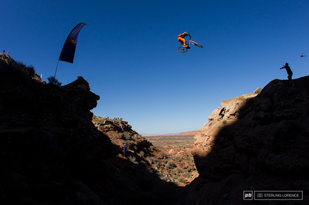 Fairclough. 2013 RedBull Rampage in Virgin Utah