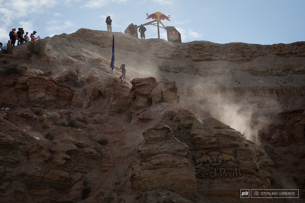 the top claimed lots today 2013 RedBull Rampage in Virgin Utah