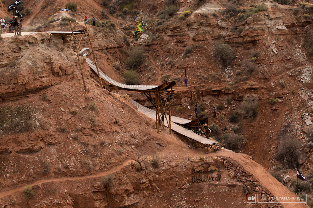 2013 RedBull Rampage in Virgin, Utah