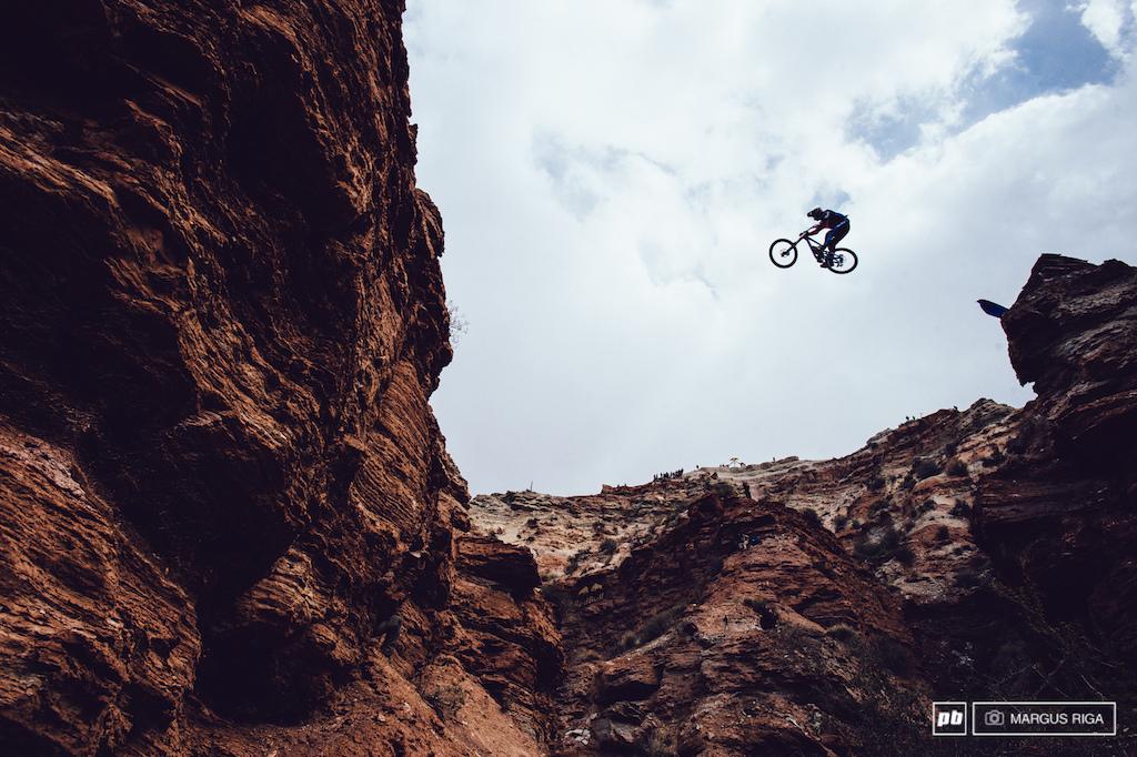Brendog had his canyon gap dialled.