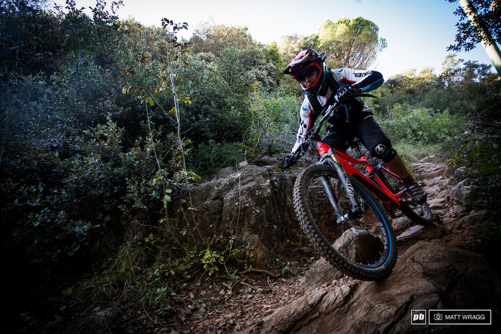 Nico Lau look on the gas on stage 2 6. Were going to stick our neck out now and say he s our bet for this weekend. His season hasn t been quite what he wanted so he s hungry for an EWS win and coming off a win at the Trans Provence his confidence must be riding high.