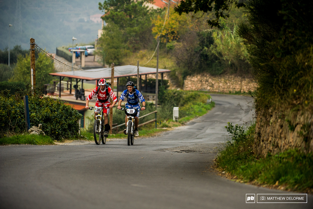 Long steep transfers are sure to keep the legs burning and well fatigued.