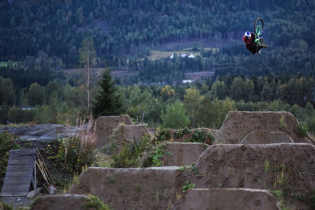 Pavel is defintely one on the most technical riders in the world - 360 invert