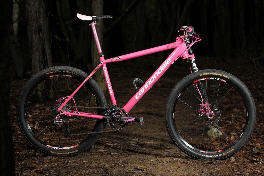 Cannondale Flash Carbon Pink