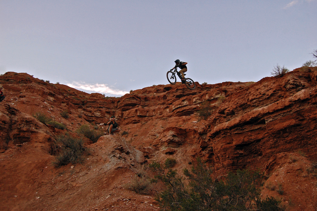 Just you daily dose of Sending! Canfield Brothers  Zion Cycles