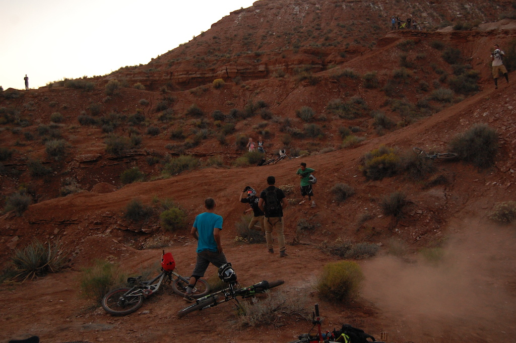 Huge sesh out at the old site Rampage weekend
