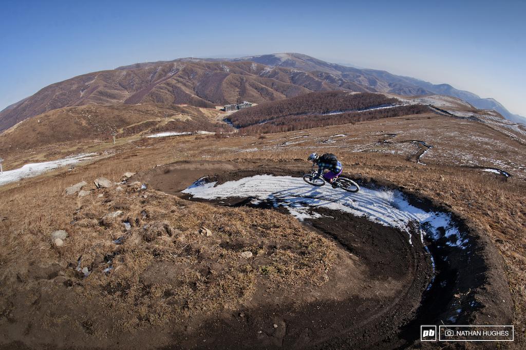 Top turn landscape