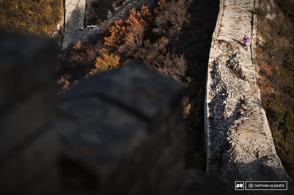 Wall descent
