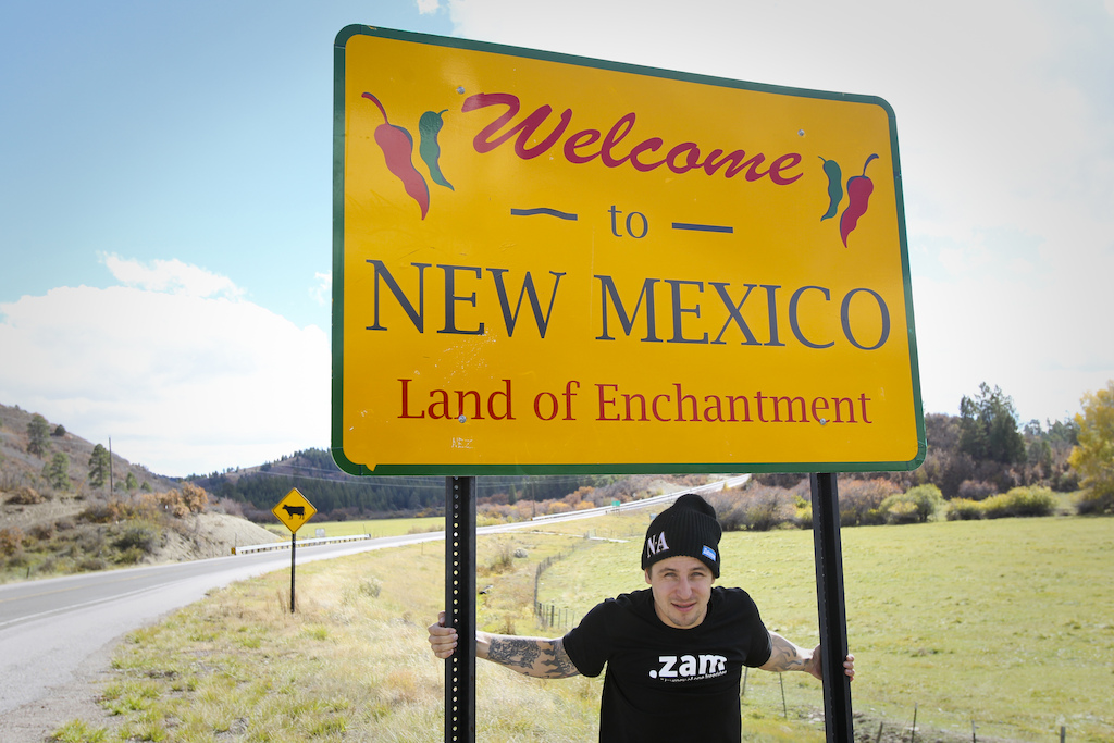 New Mexico was a very pleasant surprise for everyone in our crew. Gaspi was happy