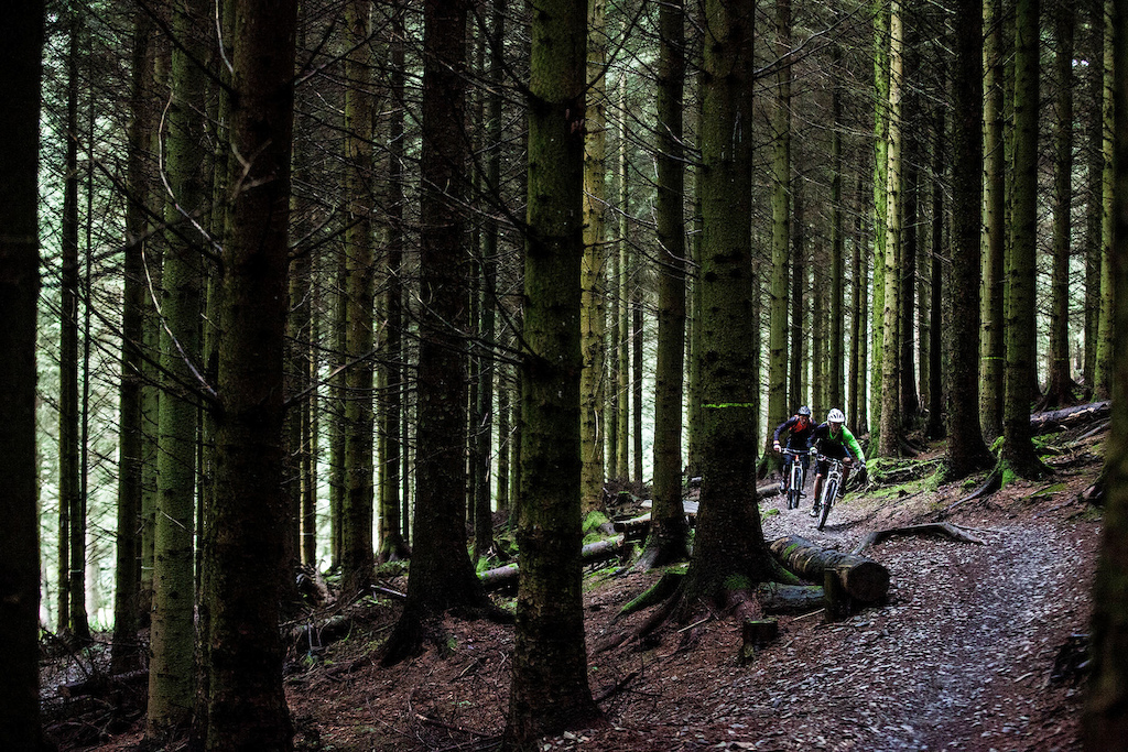 The filming locations took us to some great fast flowing woodland sections