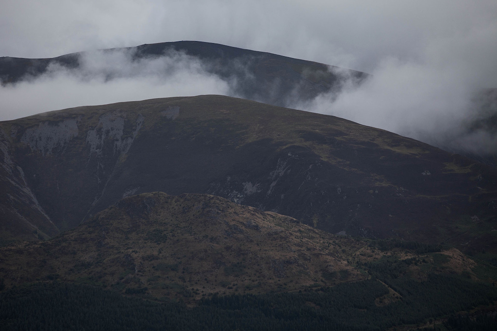 As a complete opposite to the enclosed woodland sections we also ventured up onto the peaks.