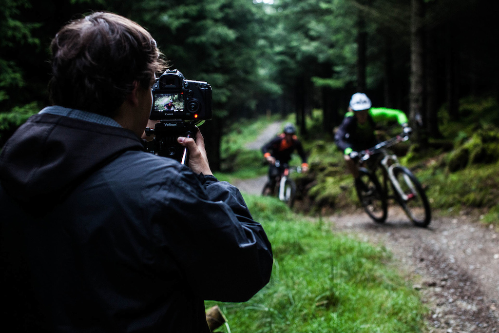 The nature of filming is that is quite often requires lots of takes. We don t think Harry and Matt minded with such sweet trails to ride.