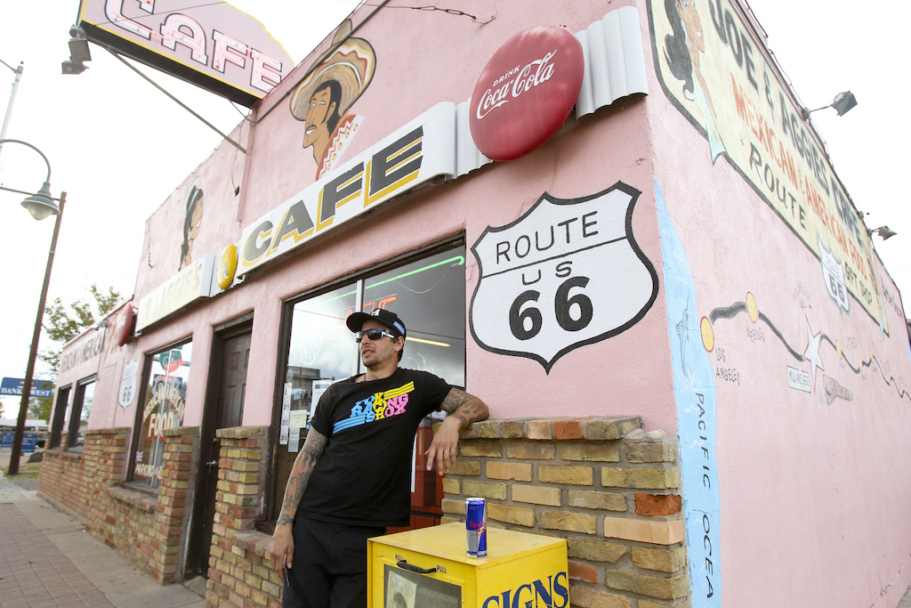 Show us any European who doesn t want to have a picture on Route 66