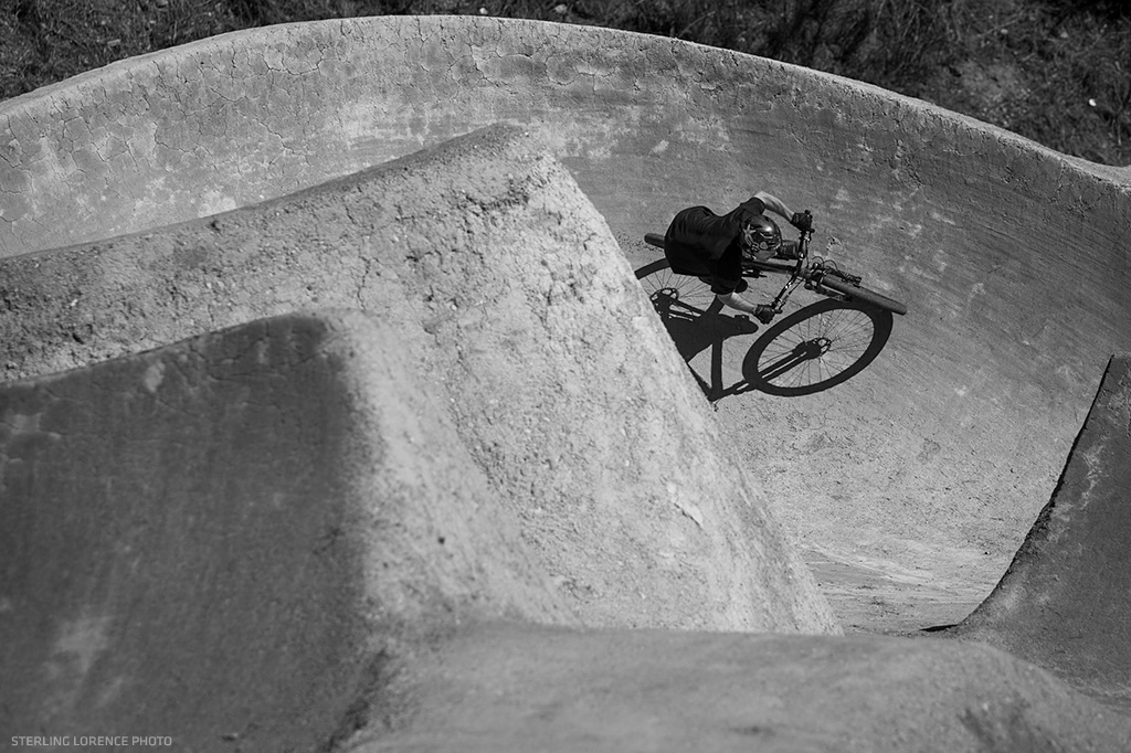 mccaul at the Gorge Road Dirt Jumps near Queenstown New Zealand.