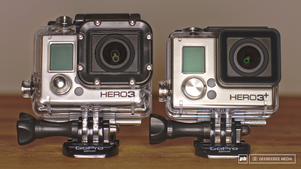 GoPro HERO 3 Black & 3+ Black
